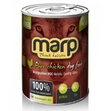 6x Marp holistic Pure Chicken Dog Can Food 800 g
