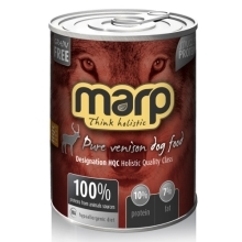 6x Marp holistic Pure Venison Dog Can Food 400 g
