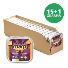 Marp Mix Lamb & Vegetable Dog 16 x 100 g (15+1 ZDARMA)