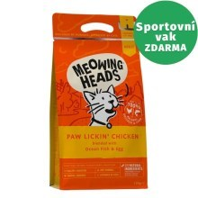 Meowing Heads Paw Lickin' Chicken 1,5 kg
