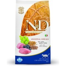 N&D Ancestral Grain Cat Adult Lamb & Blueberry 1,5 kg