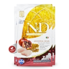 N&D Ancestral Grain Dog Puppy M/L Chicken & Pomegranate 2,5 kg