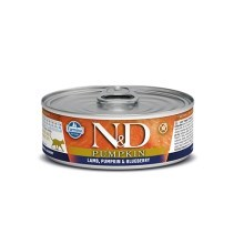 N&D Cat Pumpkin konzerva Adult Lamb & Blueberry 80 g