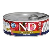 N&D Cat Quinoa konzerva Digestion Lamb & Fennel 80 g