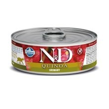 N&D Cat Quinoa konzerva Urinary Duck & Cranberry 80 g