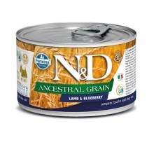 N&D Dog LG konzerva Adult Lamb & Blueberry Mini 140 g