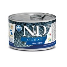 N&D Dog Ocean konzerva Puppy Codfish & Pumpkin Mini 140 g