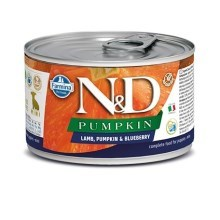 N&D Dog Pumpkin konzerva Puppy Lamb & Blueberry Mini 140 g