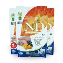 N&D GF Pumpkin Dog Adult M/L Lamb&Blueberry 2,5 kg