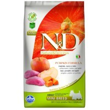 N&D GF Pumpkin Dog Adult Mini Boar & Apple 2,5 kg