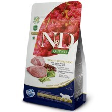 N&D GF Quinoa Cat Weight Mngmnt Lamb & Broccoli 300 g