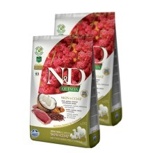 N&D GF Quinoa Dog Skin & Coat Duck & Coconut SET 2x 7 kg
