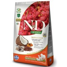 N&D GF Quinoa Dog Skin & Coat Herring & Coconut 800 g
