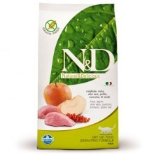 N&D Grain Free Cat Adult Boar & Apple 300 g