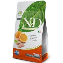 N&D Grain Free Cat Adult Fish&Orange 1,5 kg