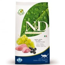 N&D Grain Free Cat Adult Lamb & Blueberry 300 g