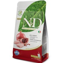 N&D Grain Free Cat Kitten Chicken & Pomegranate 300 g