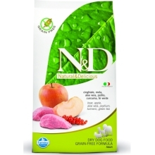 N&D Grain Free Dog Adult Boar&Apple 12 kg