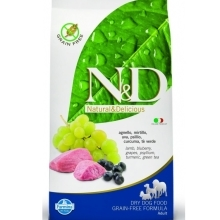 N&D Grain Free Dog Adult Lamb&Blueberry 12 kg
