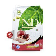 N&D Grain Free Dog Adult Mini Chicken&Pomegranat 2,5 kg