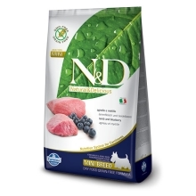 N&D Grain Free Dog Adult Mini Lamb&Blueberry 2,5 kg
