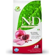 N&D Grain Free Dog Puppy S/M Chicken & Pomegr 800 g