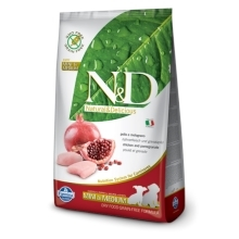 N&D Grain Free Dog Puppy S/M Chicken&Pomegranate 12 kg