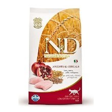 N&D Low Grain Cat Adult Chicken & Pomegranate 300 g