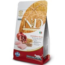 N&D Low Grain Cat Neutered Chicken&Pomegranate 1,5 kg