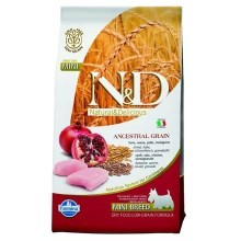 N&D Low Grain Dog Adult Mini Chicken & Pomegranate 7 kg