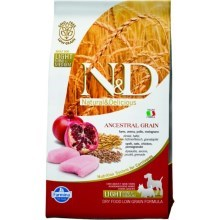 N&D Low Grain DOG Light S/M Chicken & Pomegr 2,5kg