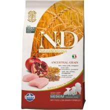 N&D Low Grain Dog Puppy Chicken & Pomegranate 12 kg