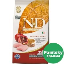 N&D Low Grain Dog Puppy Chicken&Pomegranate 12 kg