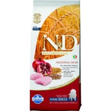 N&D Low Grain Dog Puppy Maxi Chicken&Pomegranate 12 kg