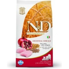 N&D Low Grain Dog Puppy Mini Chicken & Pomegr 800 g