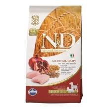 N&D Low Grain Dog Senior S/M Chicken&Pomegranate 2,5 kg