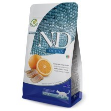 N&D Ocean Cat LG Adult Codfish & Orange 300 g