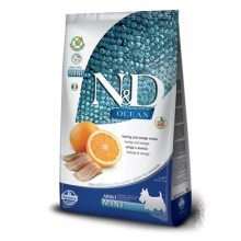 N&D Ocean Dog Grain Free Adult Mini Herring & Orange 2,5 kg