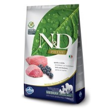 N&D Prime Dog Adult Lamb & Blueberry 2,5 kg