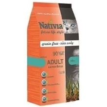 2x Nativia Cat Adult Salmon & Rice Active 10 kg