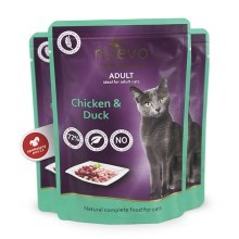 Nuevo Cat kapsička Adult Chicken & Duck 85 g