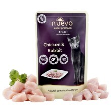 Nuevo Cat kapsička Adult Chicken & Rabbit 85 g