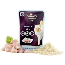 Nuevo Cat kapsička Adult Light Chicken & Rice 85 g