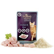 Nuevo Cat kapsička Sterilized Chicken & Rice 85 g