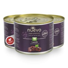 Nuevo Cat konzerva Senior Lamb & Cranberries 200 g