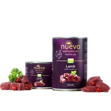 Nuevo Cat konzerva Senior Lamb & Cranberries 400 g