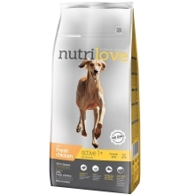 Nutrilove Dog Active Fresh Chicken 3 kg