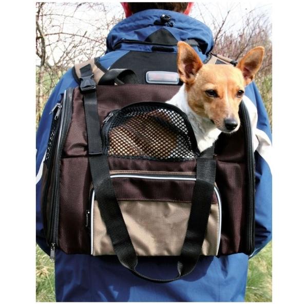 609891f9d0 Nylonový batoh na psa Trixie DeLuxe Shiva