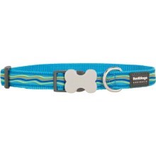 Obojek Red Dingo M 30 - 47 cm Dreamstream Turquoise
