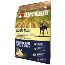 Ontario Adult Mini Chicken & Herbs 2,25 kg